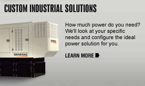 Standby Generators Industrial Overview