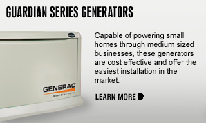 Home Generator Generac Guardian Series