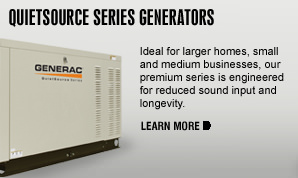 Standby Generators Quietsource Information