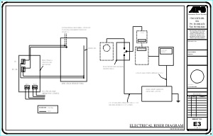Electrical Riser Diagram For Apartment